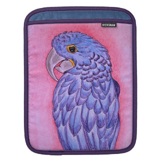 Hyacinth Macaw iPad Sleeve