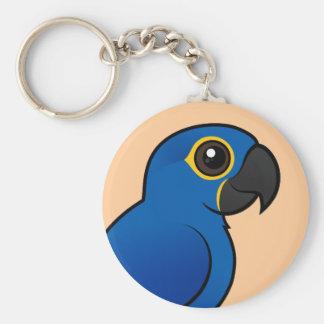 Hyacinth Macaw Key Ring