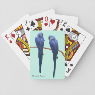 Hyacinth Macaw Playing Cards