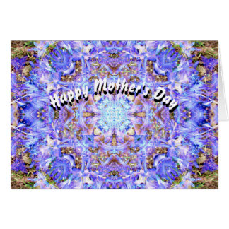 Hyacinth Mandala Mother's Day Card