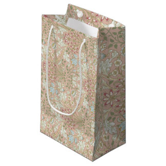 Hyacinth Pattern William Morris Sample Book Small Gift Bag