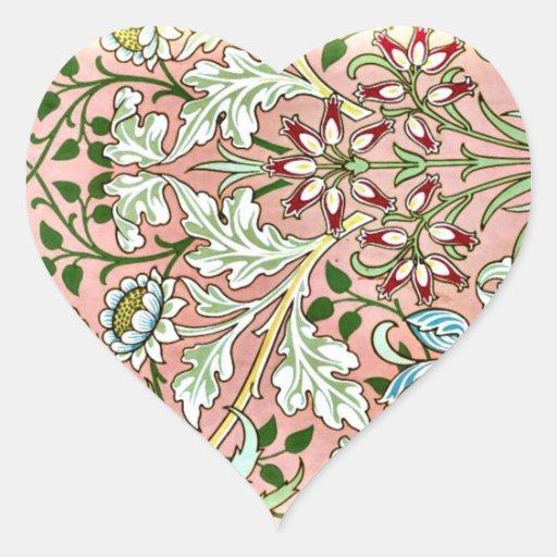 Hyacinth - William Morris Vintage Design Stickers