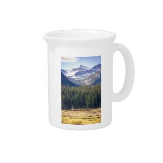 Hyalite Peaks Bozeman, Montana Pitcher