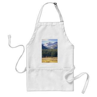 Hyalite Peaks Bozeman, Montana Standard Apron