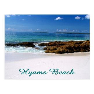 Hyams Beach Postcard