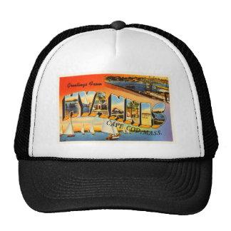 Hyannis Cape Cod Massachusetts MA Travel Souvenir Cap