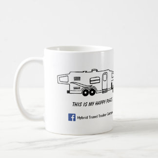 Hybrid Camper Mug - This is my happy place.