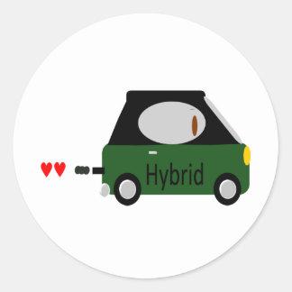 Hybrid Car Stickers