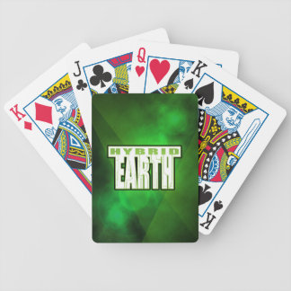 Hybrid Earth Playing Cards - Bicycle