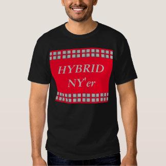 Hybrid NY'er Black and White Tshirt NYC Urbanite 4