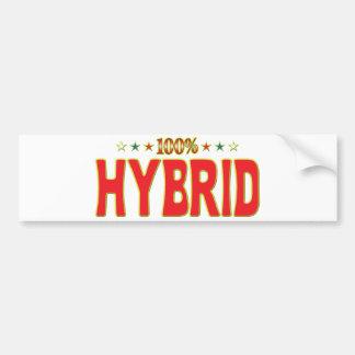 Hybrid Star Tag Bumper Stickers