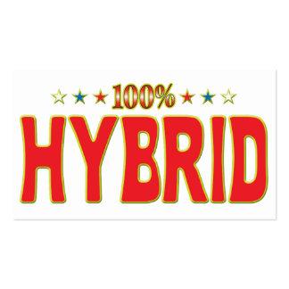 Hybrid Star Tag Business Cards