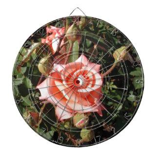 Hybrid Tea Rose Dart Board