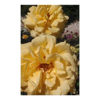 Hybrid Tea Rose Landora Custom Stationery