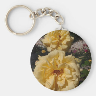 Hybrid Tea Rose Landora Keychain