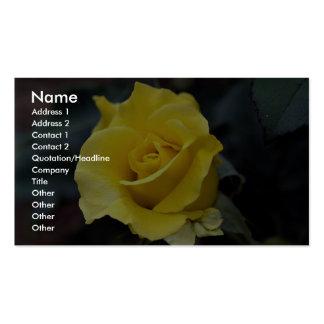 Hybrid Tea Rose 'Lanvin' Roses Business Card Templates