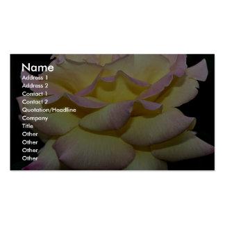 Hybrid Tea Rose 'Peace Rose' Roses Pack Of Standard Business Cards