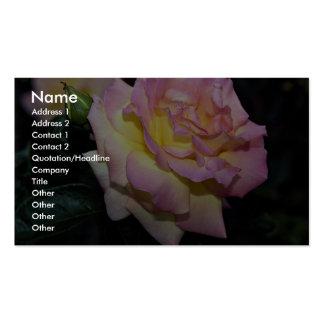 Hybrid Tea Rose 'Peace' Roses Business Card Template