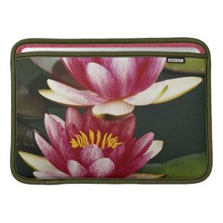 Hybrid water lilies MacBook air sleeves
