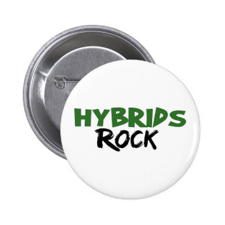 Hybrids Rock 6 Cm Round Badge