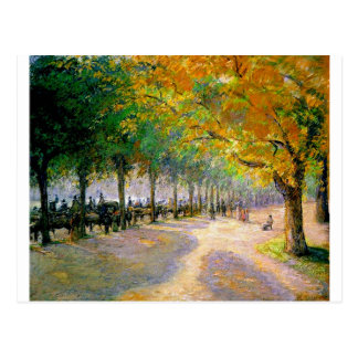 Hyde Park, London by Camille Pissarro Postcard
