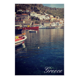 Hydra, Greece Poster