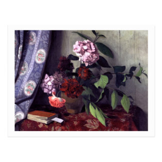 Hydrangea and Poppies by Felix Vallotton Postcard