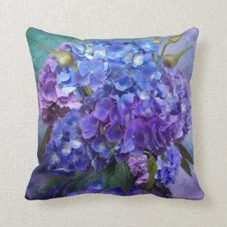 Hydrangea Art Designer Pillow