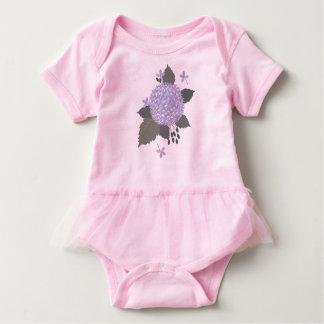 Hydrangea Baby Bodysuit