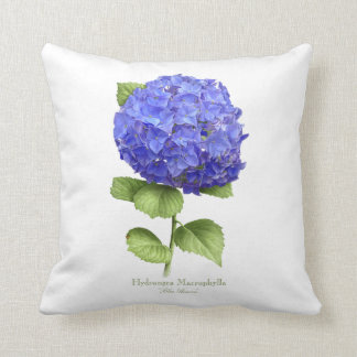 "Hydrangea ""Blue Heaven"" Cushion"