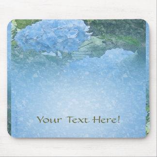 Hydrangea Blue Mousepad