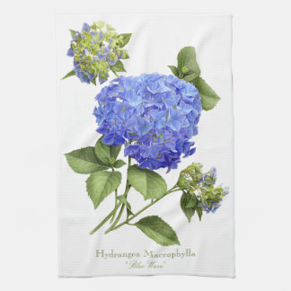 "Hydrangea ""Blue Wave"" Towel"