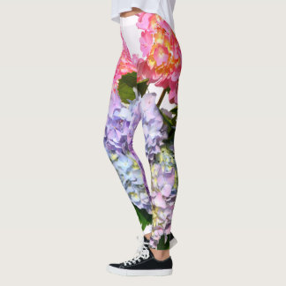 Hydrangea Bouquet Leggings