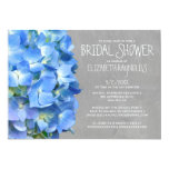 Hydrangea Bridal Shower Invitations Invites