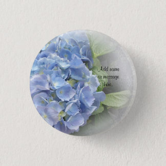 Hydrangea button for wedding favors