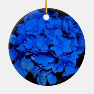 Hydrangea Christmas Ornament
