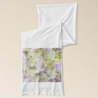Hydrangea closeup scarf