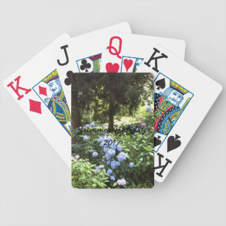 Hydrangea Floral Trees Nature Photography Bicycle Playing Cards
