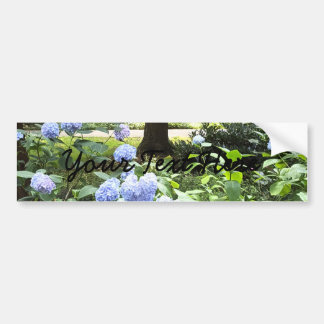 Hydrangea Floral Trees Nature Photography Bumper Sticker