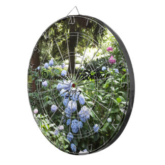 Hydrangea Floral Trees Nature Photography Dartboard