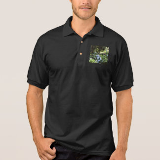 Hydrangea Floral Trees Nature Photography Polo Shirt