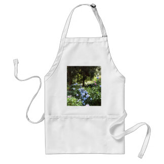 Hydrangea Floral Trees Nature Photography Standard Apron