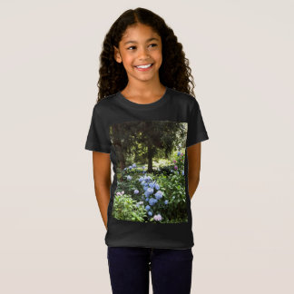 Hydrangea Floral Trees Nature Photography T-Shirt