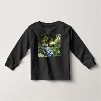 Hydrangea Floral Trees Nature Photography Toddler T-Shirt