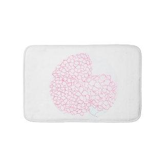 Hydrangea Flower Bath Mat