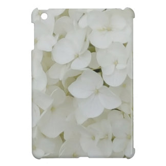 Hydrangea Flowers Floral White Elegant Blossom Case For The iPad Mini