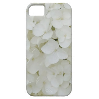 Hydrangea Flowers Floral White Elegant Blossom iPhone 5 Cover