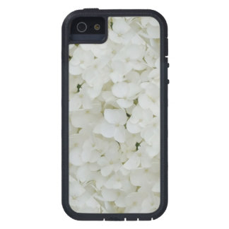 Hydrangea Flowers Floral White Elegant Blossom iPhone 5 Covers