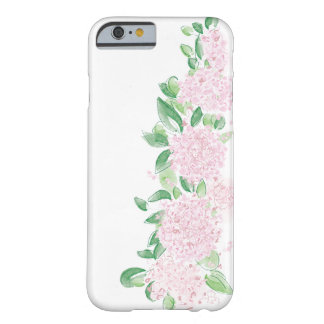 Hydrangea Flowers Iphone case Floral pink case
