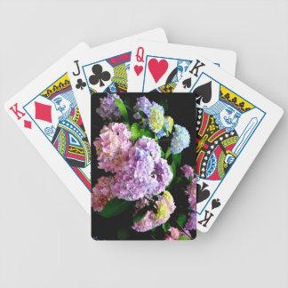 Hydrangea Gardens Poker Deck